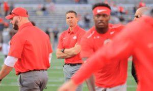 Brian Hartline coaching-Ohio State Buckeyes-Ohio State football