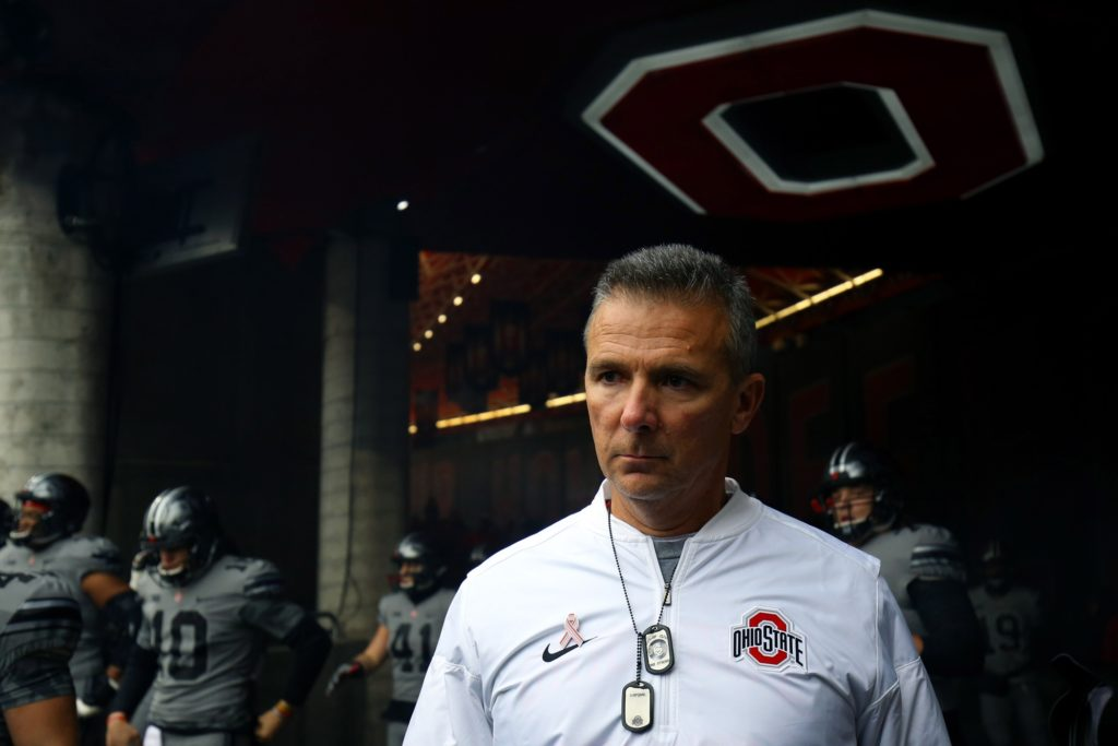 Urban Meyer Horseshoe by Aaron Doster