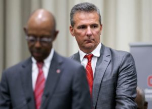 Urban Meyer-Michael Drake-Ohio State press conference-Urban Meyer suspended