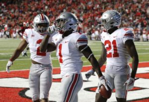 Johnnie Dixon-Parris Campbell-Ohio State wide receiver-Ohio State Buckeyes