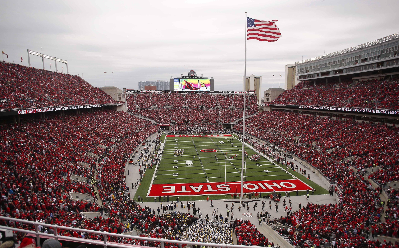 Ohio State crowd Ohio Stadium by Joe Maiorana USA Today Sports
