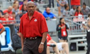 Gene Smith-Urban Meyer-Ohio State Buckeyes-Ohio State football