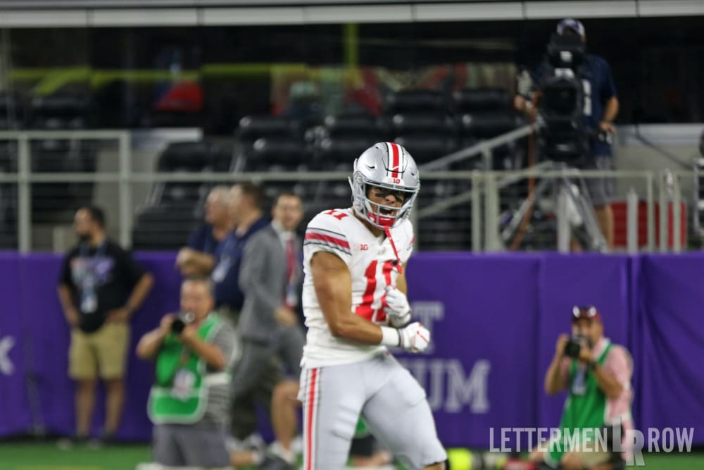 Austin Mack-Ohio State-Ohio State wide receiver-Ohio State football-Ohio State Buckeyes
