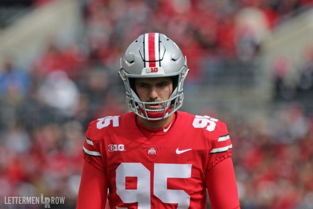 Blake Haubeil-Ohio State-Ohio State football-buckeyes