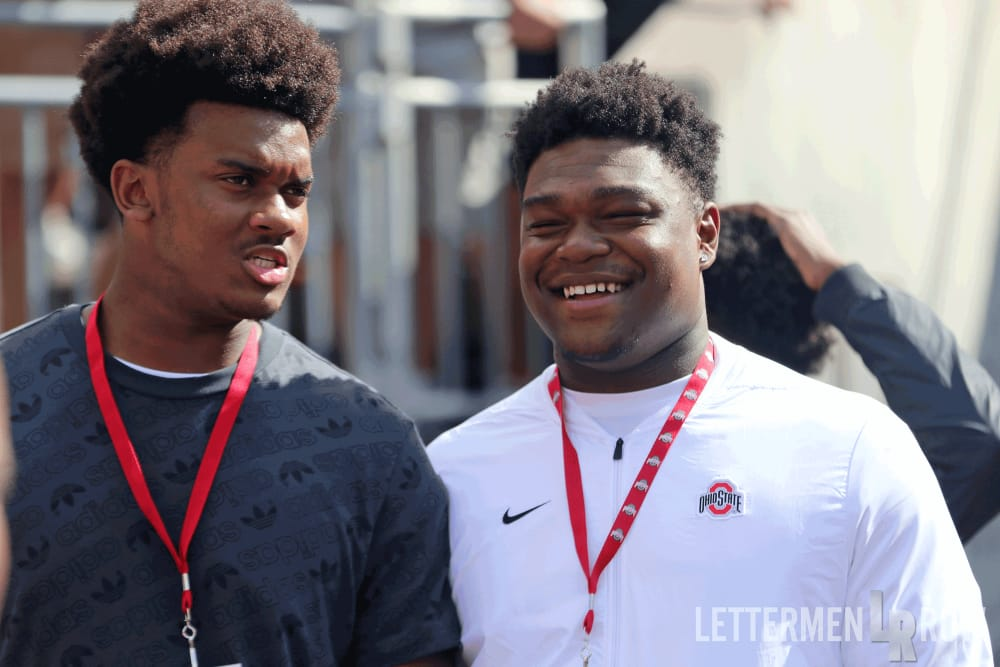 paris johnson-darrion henry-Ohio State recruiting-Ohio State football-Ohio State Buckeyes-Ohio State-Buckeyes-official visit