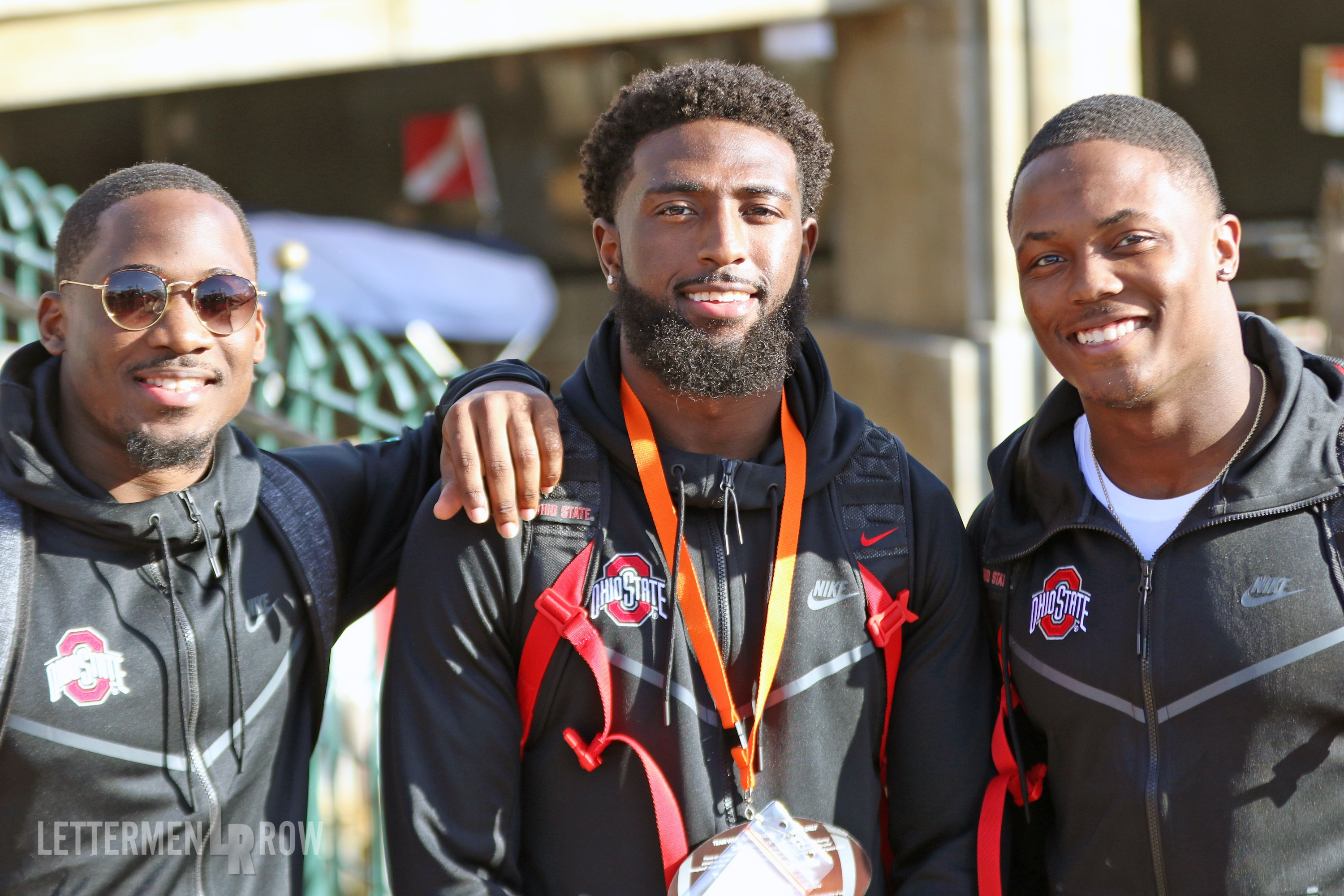 Rose Bowl Game-parris campbell johnnie dixon terry mclaurin