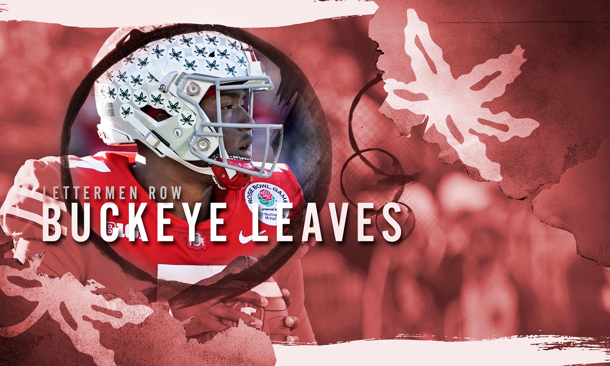 Dwayne Haskins Rose Bowl Buckeye Leaves