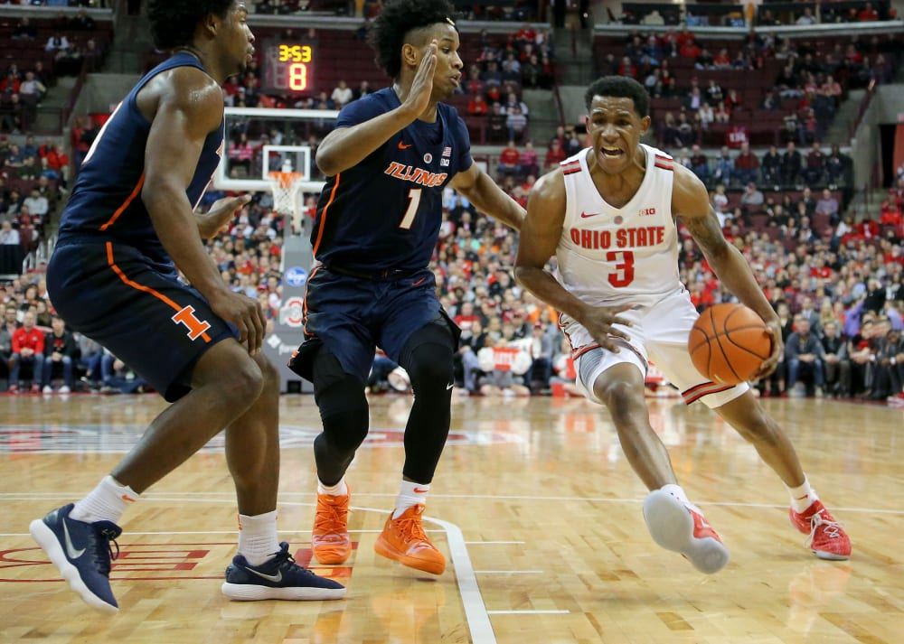 C.J. Jackson-Ohio State-Buckeyes-Ohio State basketball