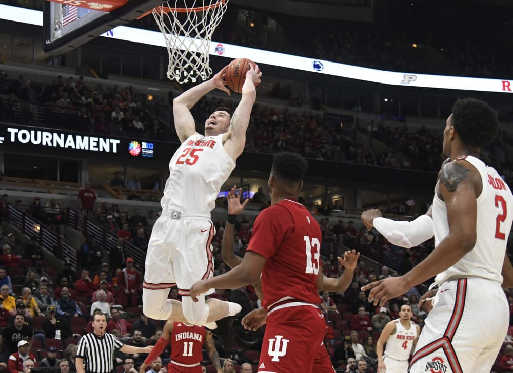 Ohio State-Kyle Young-Ohio State basketball-Buckeyes