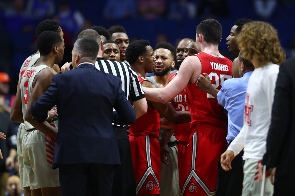 Ohio State-Houston-Ohio State basketball-Buckeyes