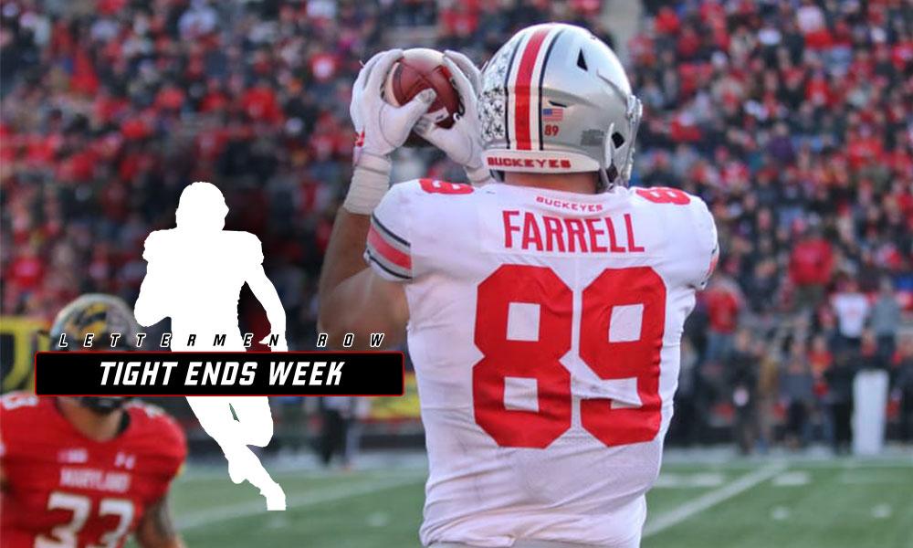 Luke Farrell TE Week