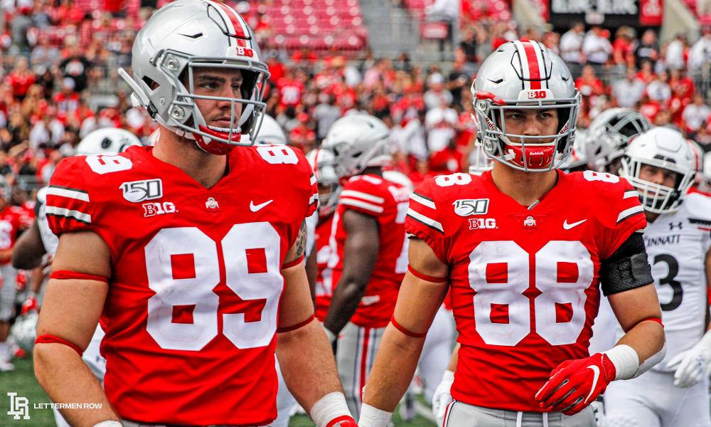 Luke Farrell-Ohio State-Buckeyes-Ohio State football-Jeremy Ruckert