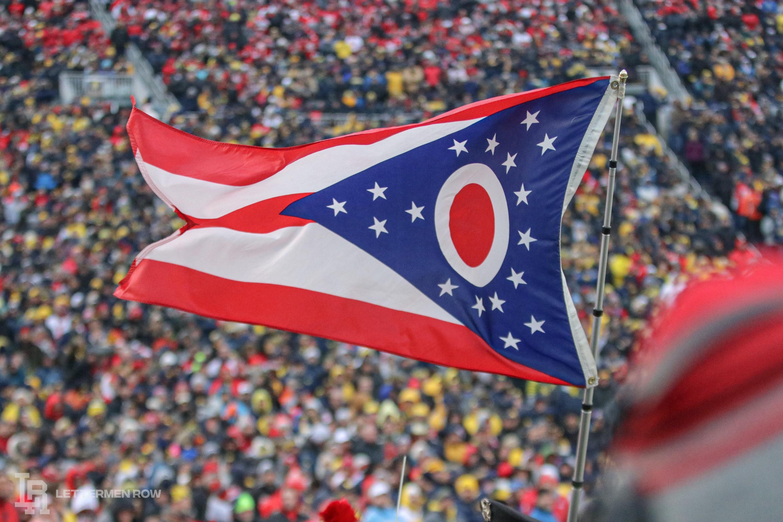 Ohio State Buckeyes by Birm-Lettermen Row