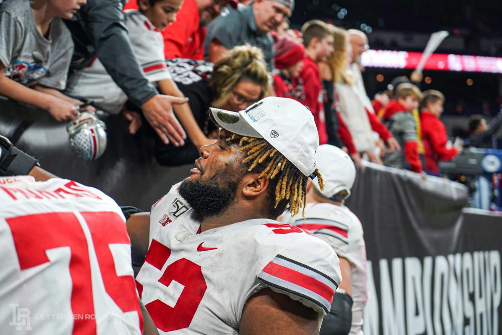 Wyatt Davis-Ohio State-Ohio State football-buckeyes