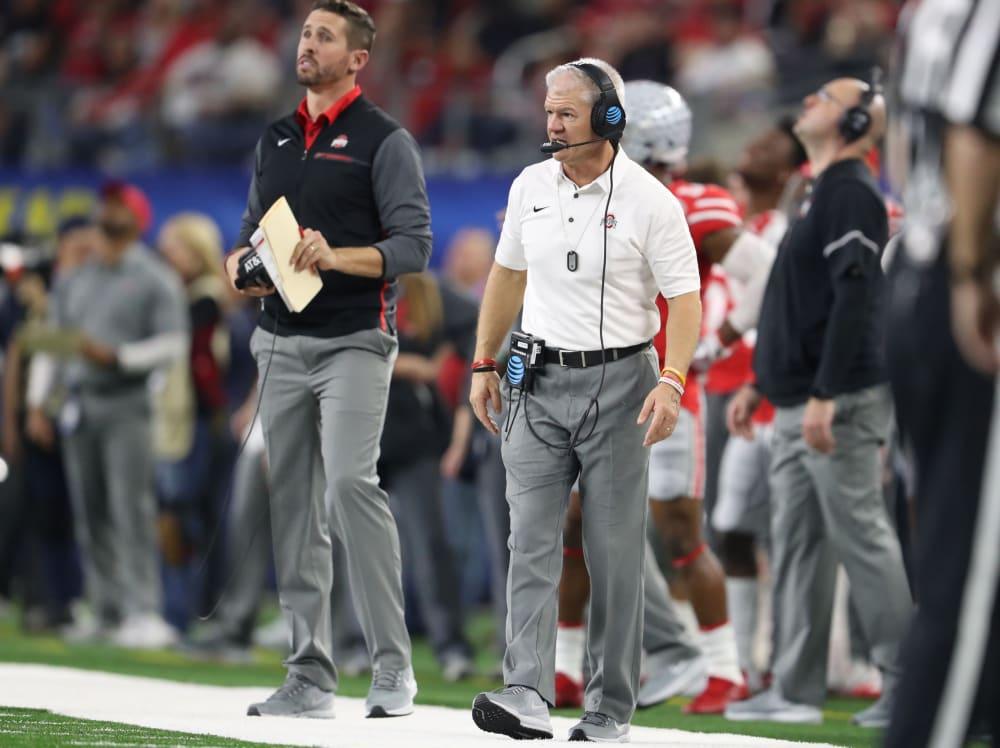 Kerry Coombs-Brian Hartline-Ohio State-Buckeyes-Ohio State football