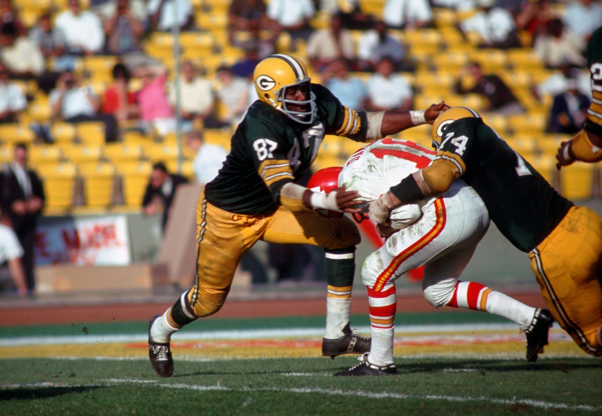 Willie Davis-Green Bay Packers-Super Bowl