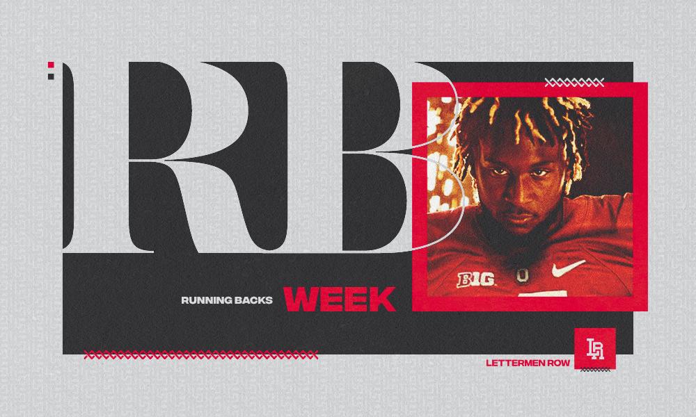 RB Week Trey Sermon by Sammy Silverman