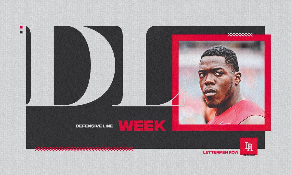Zach Harrison DL Week