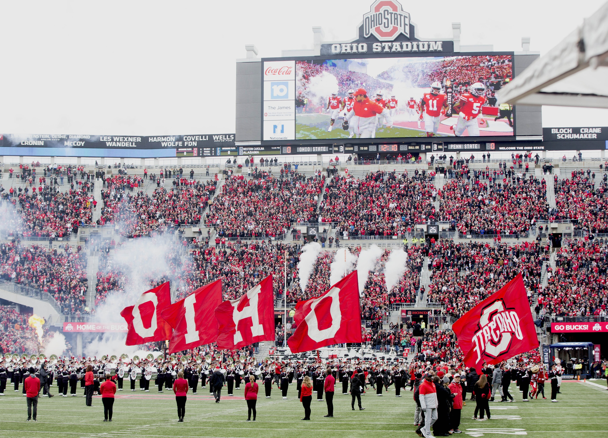 Ohio State-Ohio Stadium-Buckeyes-Ohio State football