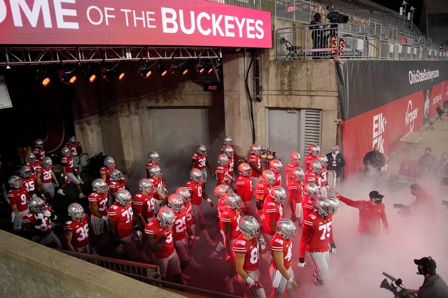 Ohio State plays Rutgers on Saturday, November 7,2020.