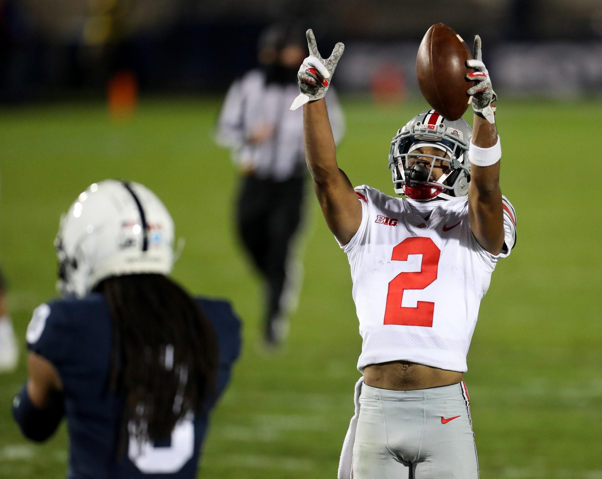 NCAA Football: Ohio State at Penn State - Chris Olave - Matthew Oharen USA Today Sports