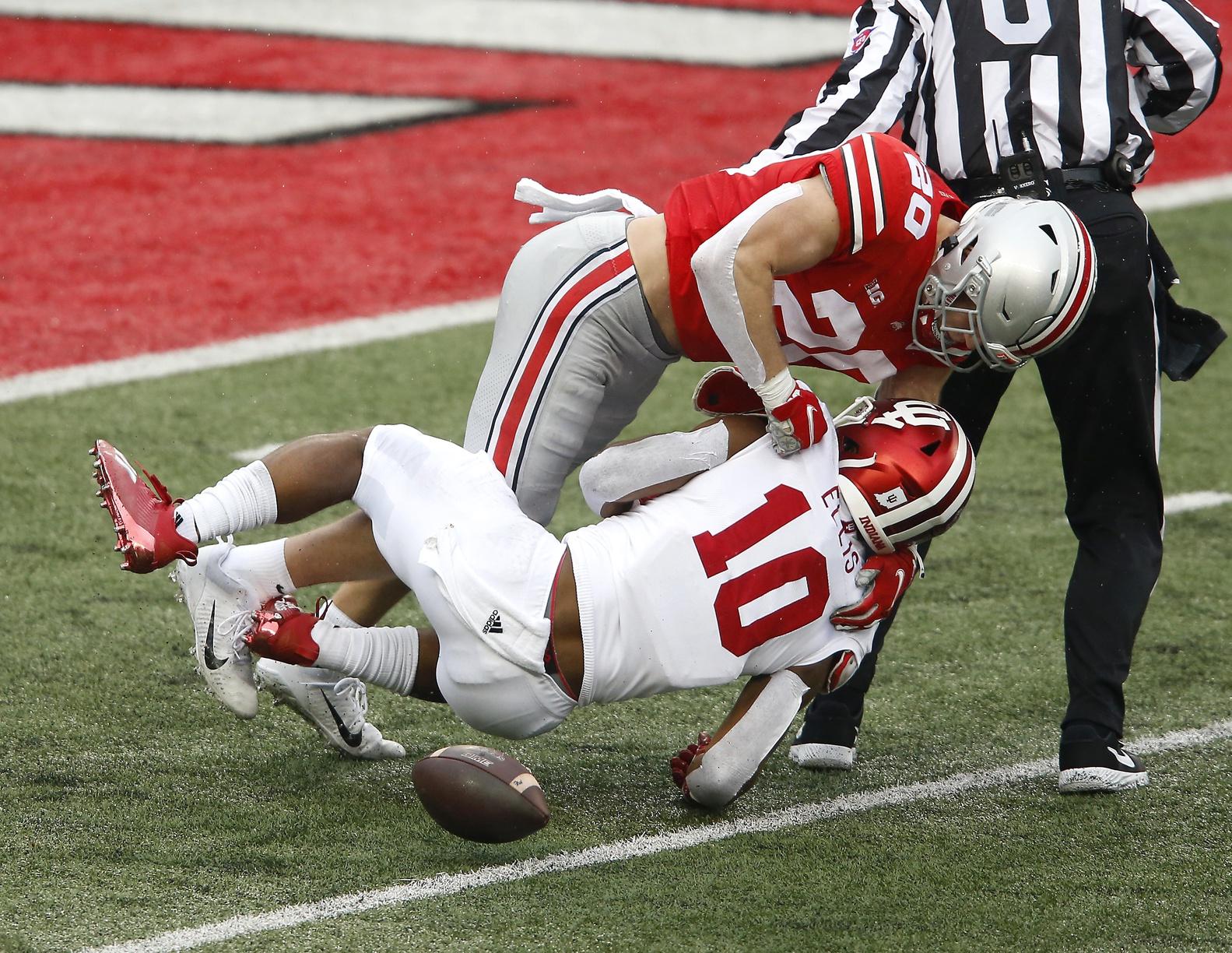 NCAA Football: Indiana at Ohio State - Joseph Maiorana-USA TODAY Sports - Pete Werner