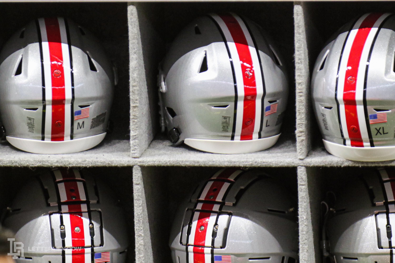 Ohio State helmet by Birm