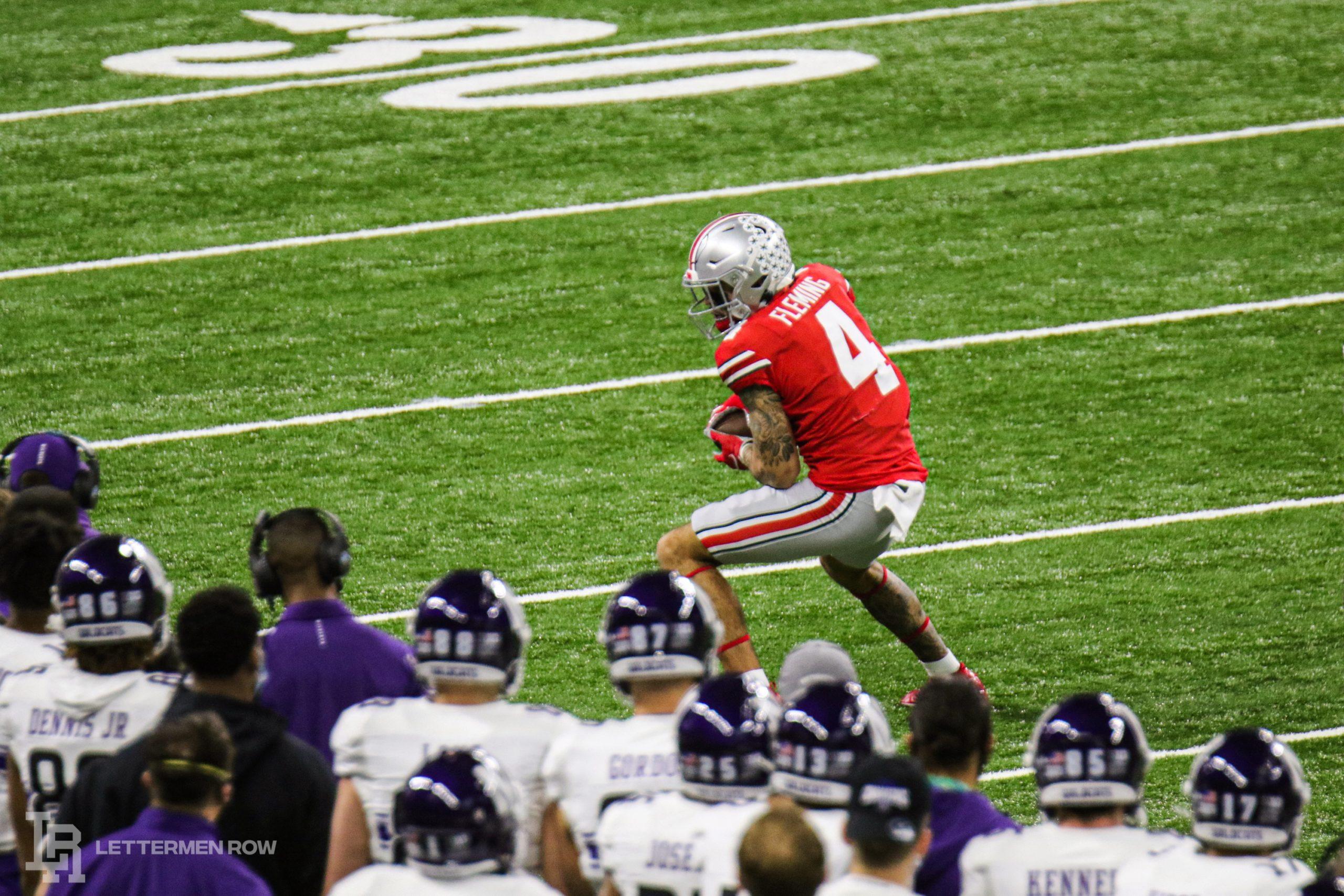 Julian Fleming-Ohio State-Ohio State football-Buckeyes