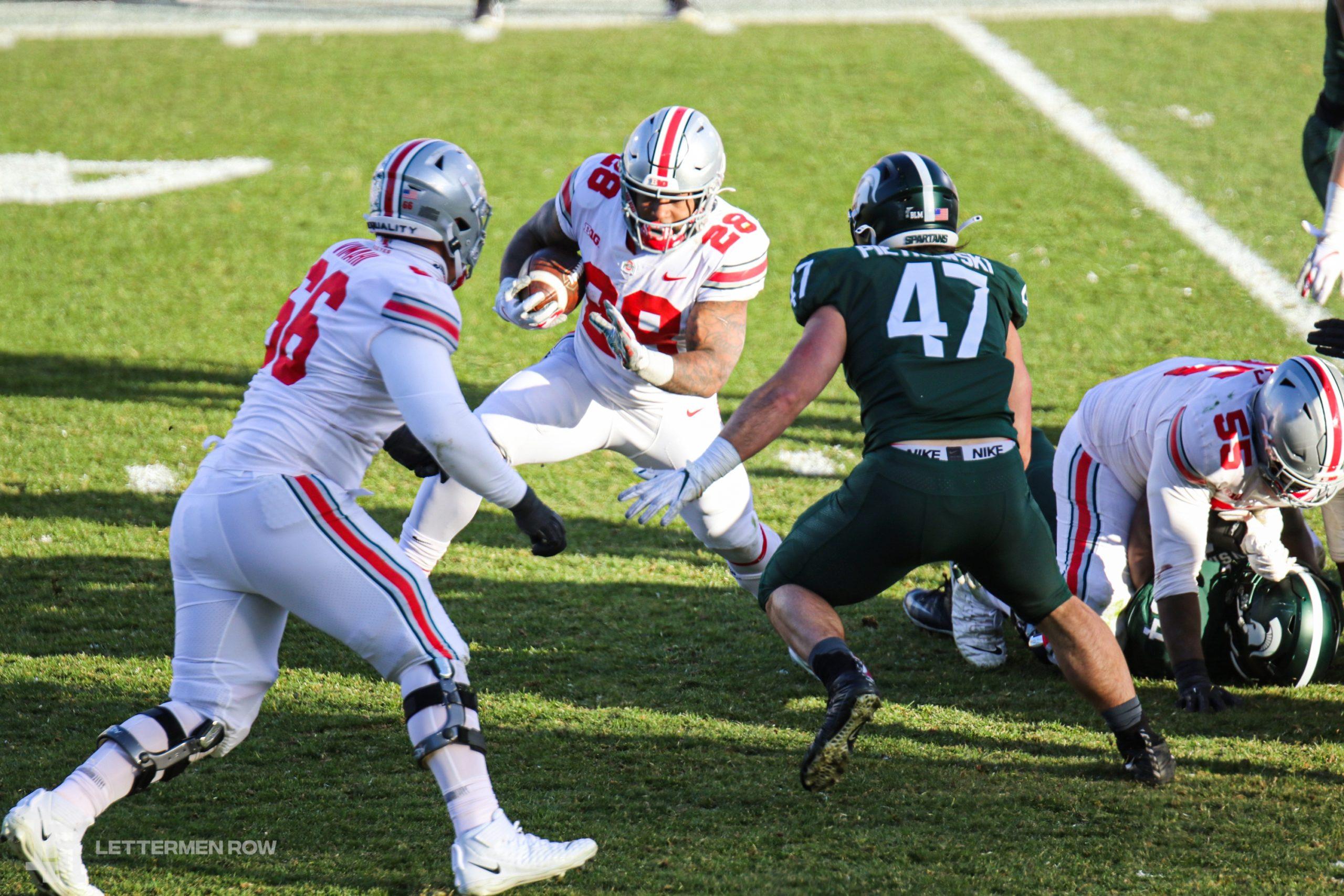 Miyan Williams-Ohio State-Buckeyes-Ohio State football