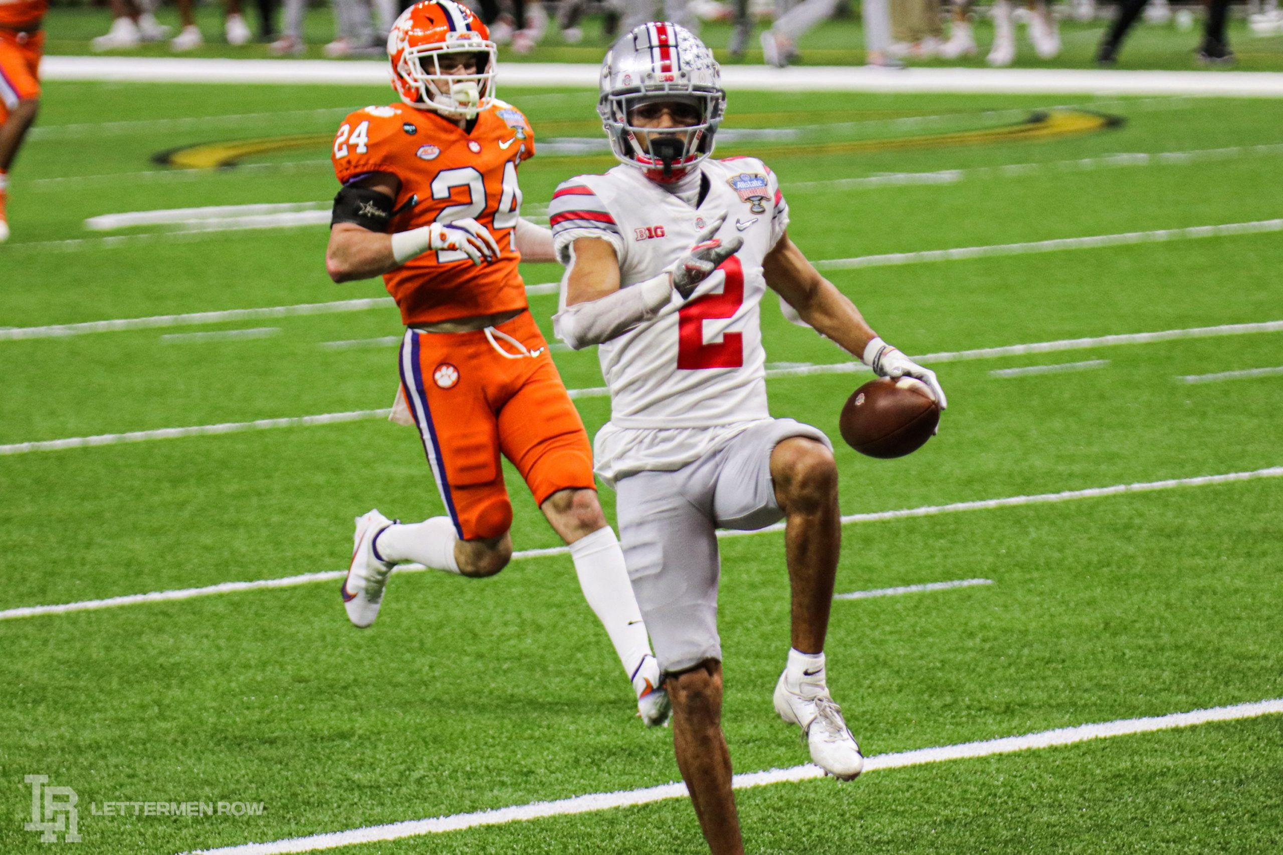 Chris Olave-Ohio State-Ohio State football-Buckeyes