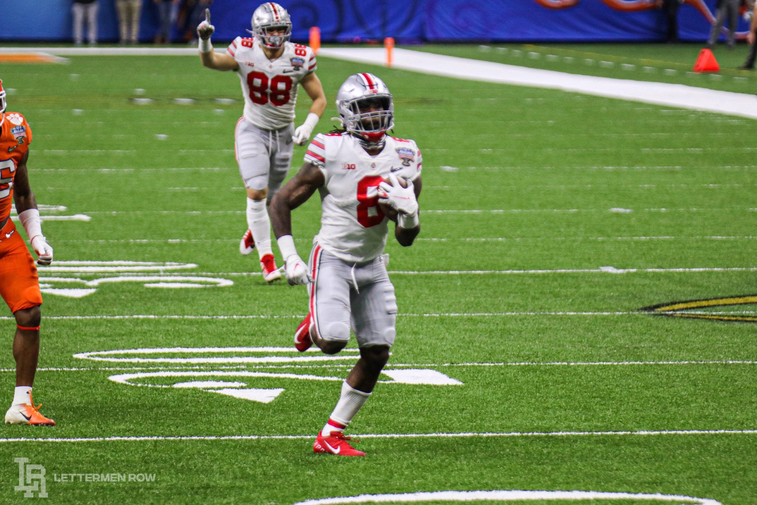 Trey Sermon-Ohio State-Ohio State football-Buckeyes