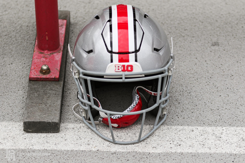 Ohio State Buckeyes helmet 5 by Birm-Lettermen Row
