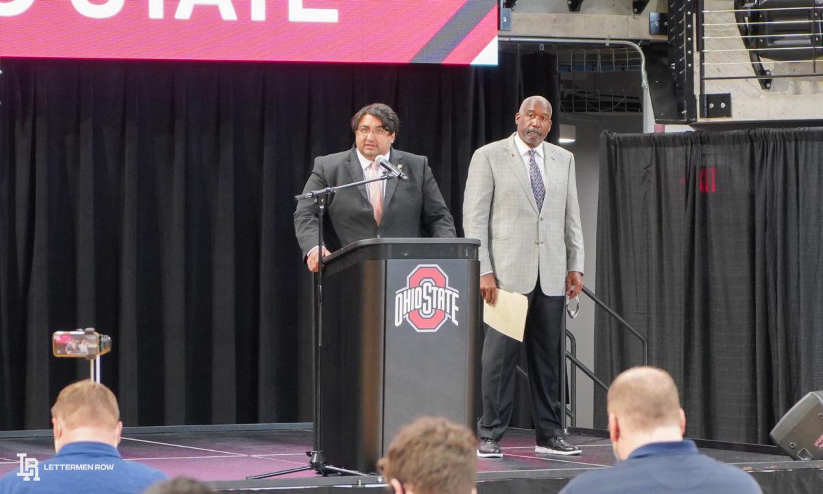 Gene Smith-Ohio State Buckeyes-Ohio State Football